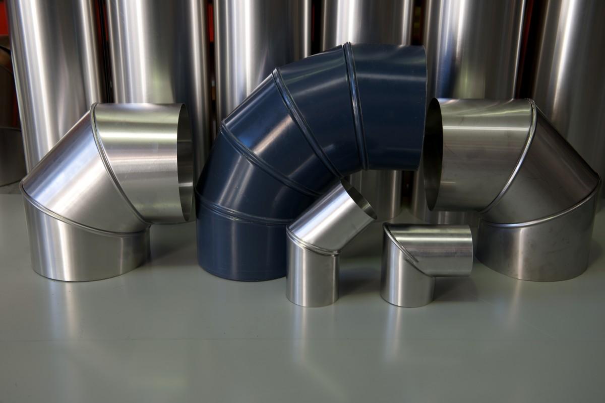 For Chimney Cladding Aluminium : Pipe insulation cladding